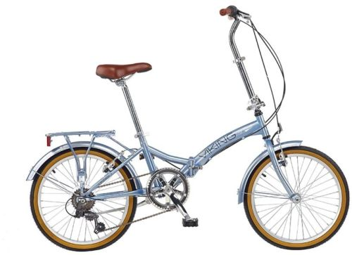 20-FOLDING-BIKE-COMPACT-CITY-FOLDABLE-6-GEARS-BICYCLE-PORTABLE-REAR-RACK-SILVER-0