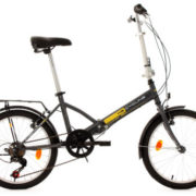 20-FOLDING-BIKE-TOULOUSE-CHARCOAL-GREY-6-GEARS-KS-CYCLING-NEW-570B-0-0