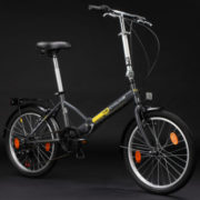 20-FOLDING-BIKE-TOULOUSE-CHARCOAL-GREY-6-GEARS-KS-CYCLING-NEW-570B-0-2