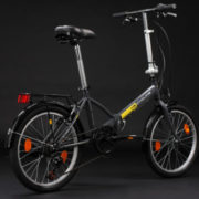 20-FOLDING-BIKE-TOULOUSE-CHARCOAL-GREY-6-GEARS-KS-CYCLING-NEW-570B-0-3