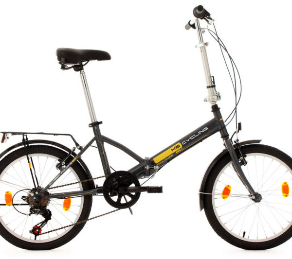 20-FOLDING-BIKE-TOULOUSE-CHARCOAL-GREY-6-GEARS-KS-CYCLING-NEW-570B-0