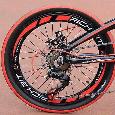 20-Folding-Bike-7-Speed-Bicycle-Fold-Storage-BLACK-School-Sports-Shimano-A55W-0-3