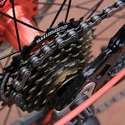 20-Folding-Bike-7-Speed-Bicycle-Fold-Storage-BLACK-School-Sports-Shimano-A55W-0-6