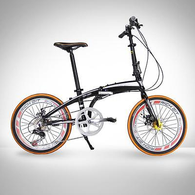 20-Folding-Bike-7-Speed-Bicycle-Fold-Storage-Orange-School-Sports-Shimano-A69W-0-1