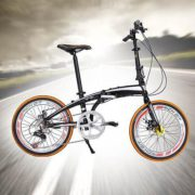 20-Folding-Bike-7-Speed-Bicycle-Fold-Storage-Orange-School-Sports-Shimano-A69W-0-2