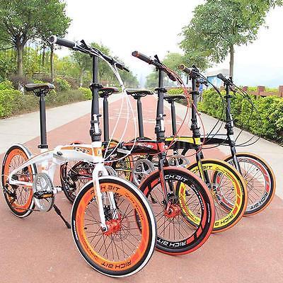 20-Folding-Bike-7-Speed-Bicycle-Fold-Storage-School-Sports-city-Shimano-UU-U7H6-0-0