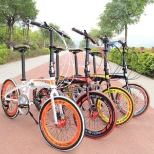 20-Folding-Bike-7-Speed-Bicycle-Fold-Storage-School-Sports-city-Shimano-UU-U7H6-0