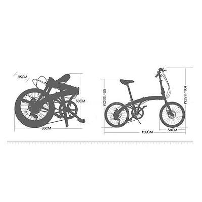 20-Folding-Bike-7-Speed-Bicycle-Fold-Storage-WHITE-School-Sports-Shimano-A5E5-0-4