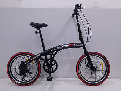 20″ Folding bike – with carry bag, front & rear lights ...