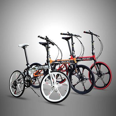 New-20-Folding-Bike-7-Speed-Fold-Storage-School-College-Bicycle-Sports-7FW1-0-9