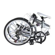 Richbit-RT023-Updated-White-Suspension-Frame-Shinamo-7-Gears-20-Folding-Bike-0-1