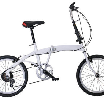 20-WHITEBLACK-SHIMANO-SPEED-FOLDING-MOUNTAIN-BIKE-BICYCLE-0