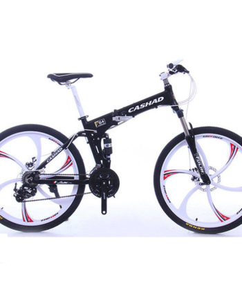 26-Folding-MTB-Road-Bike-27Speed-SHIMANO-Oil-Disc-Brake-Suspension-Fork-White-0