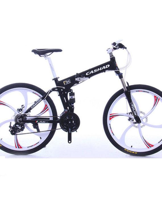 26-Folding-MTB-Road-Bike-27Speed-SHIMANO-Oil-Disc-Brake-Suspension-Fork-White-0