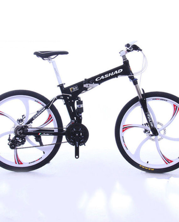 26-Mens-Folding-MTB-Bike-27-Speed-SHIMANO-Double-Disc-Brake-Suspension-Fork-0