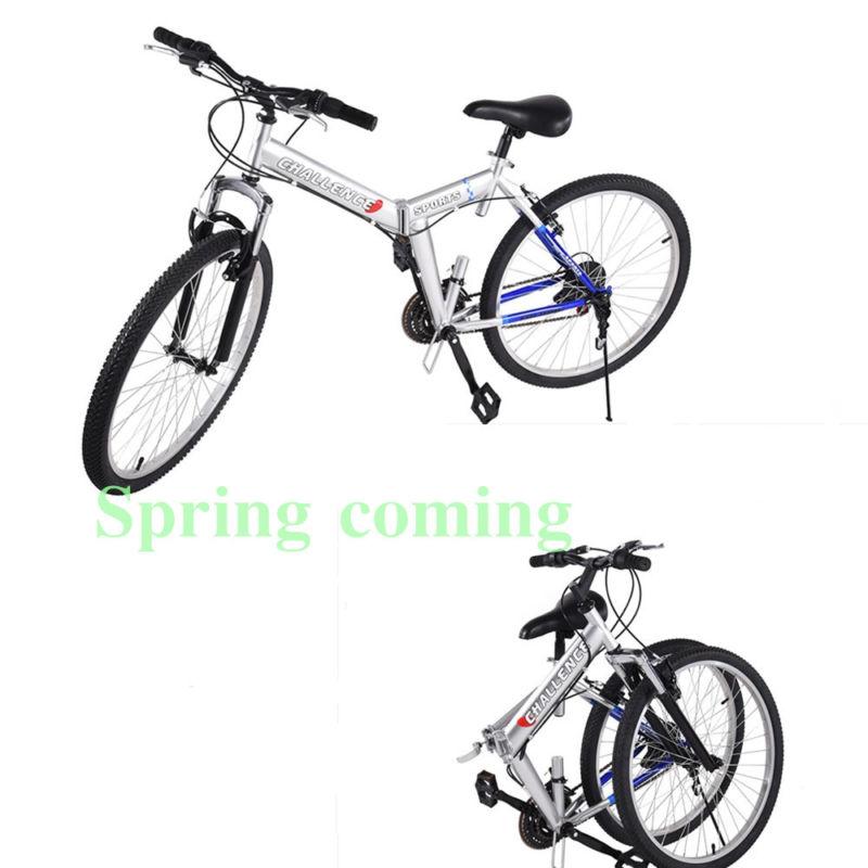 26 Inch Folding Bicycle Bike Por Mountain