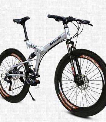 50mm-Wide-Wheels-26-Folding-Mountain-Bike-Cycling-21-Speed-Double-Disc-Brake-0