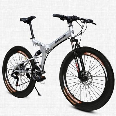 50mm-Wide-Wheels-26-Folding-Mountain-Bike-Cycling-21-Speed-Double-Disc-Brake-0
