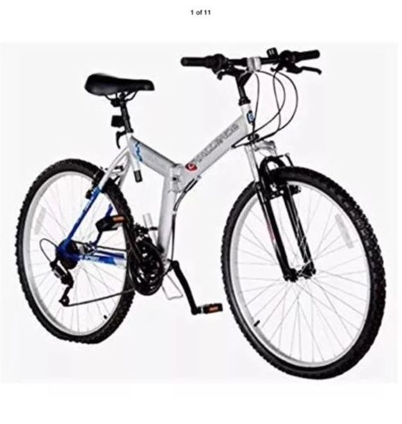 Front-Shocked-Folding-Mountain-Bike-18-Gears-26-Wheels-18-Frame-0