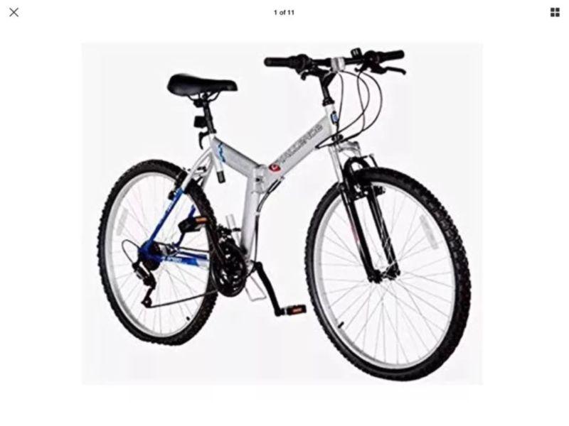 13331cc5174 Front Shocked Folding Mountain Bike 18 Gears 26″ Wheels 18″ Frame ...