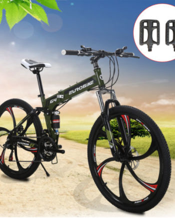 Green-26-Folding-Mountain-Bike-MTB-Bicycle-Shimano-21-Speed-6sp-Lock-Wheels-0