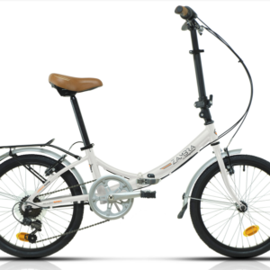Megamo Folding Bike Aluminum Zambra White