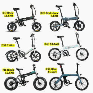 "14"" 16"" 20"" Electric Folding Bike Commuter Moped Bicycle Cycling City E-Bike"