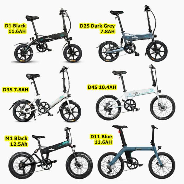 "14"" 16"" 20"" Electric Folding Bike Commuter Moped Bicycle Cycling City E-Bike"