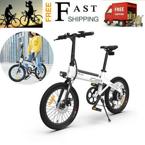 HIMO C20 Electric Bike Mountain Folding Bike 20Inch Tire Electric City Bike N3E6