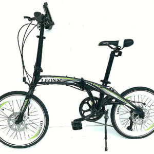 Folding bike 20 inch wheels 7 speed shimano gears disc brakes ALLOY LIGHTWEIGHT