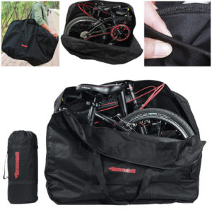 20Inch Folding Bike Bag Loading Vehicle Carrying Pouch Car Portable Bicycle Pack