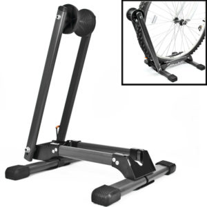 Folding BIKE STAND Portable Bicycle Floor Ground Parking Holder Storage Rack