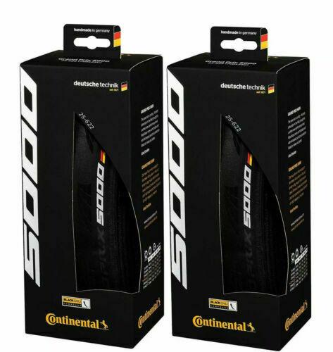 Continental Grand Prix GP 5000 Folding Bike Tyres X 2 | 700 X 28C | Twin Pack