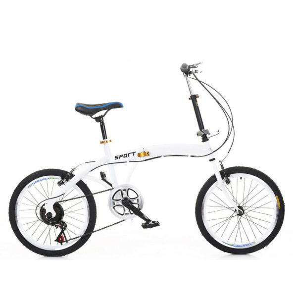 20 Inch Folding Bicycle 7 Speed Bike Double V Brake for Man, Woman, Child
