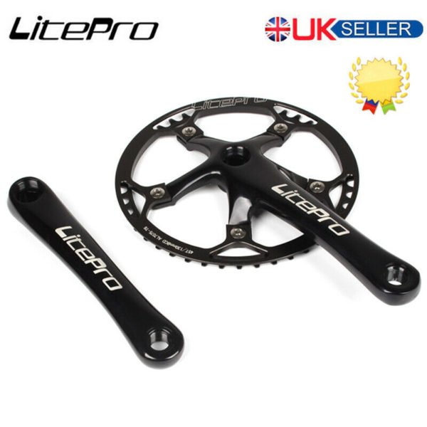 Litepro 170mm Crank 130BCD 45-58T Chainring Road Folding Bike Chainset Sprocket