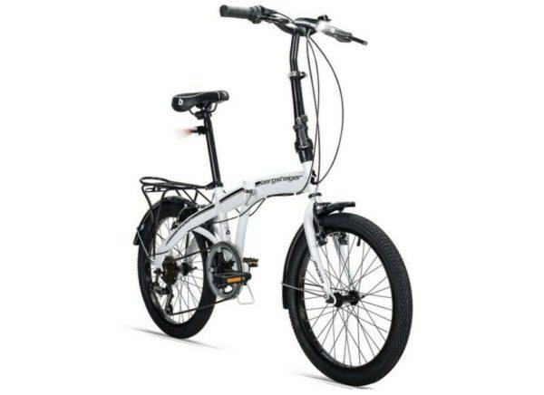 "Berstiger Tyre 20"" Aluminium V Brakes 8 Speed Shimano Folding Folding Bike"