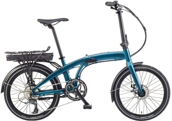 Ezego Electric Folding Bike 2020 - Blue