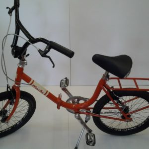 'Mocks' Vintage Scappatella by Abici Folding Bicycle (Italian) Orange RRP £800