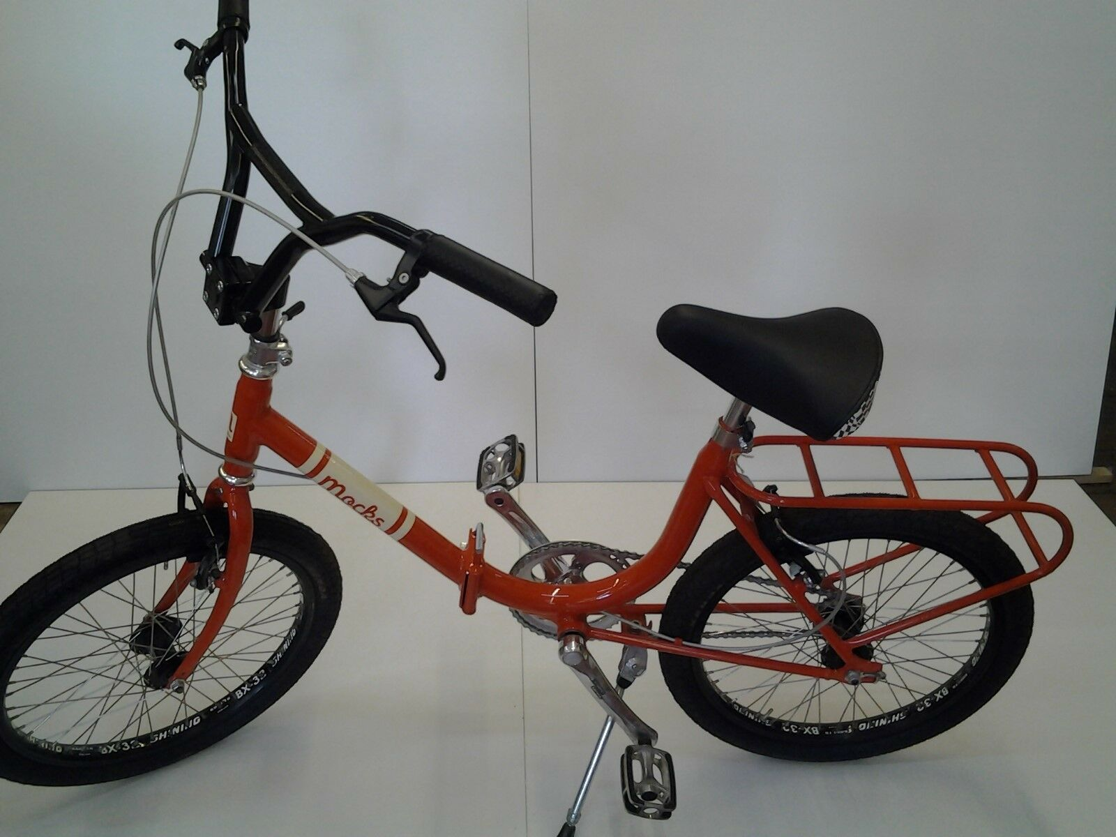 'Mocks' Vintage Scappatella by Abici Folding Bicycle (Italian) Orange RRP £800