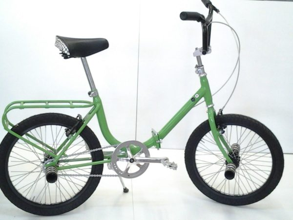 Scappatella by Abici Unique Vintage Folding Bicycle (Italian) Green