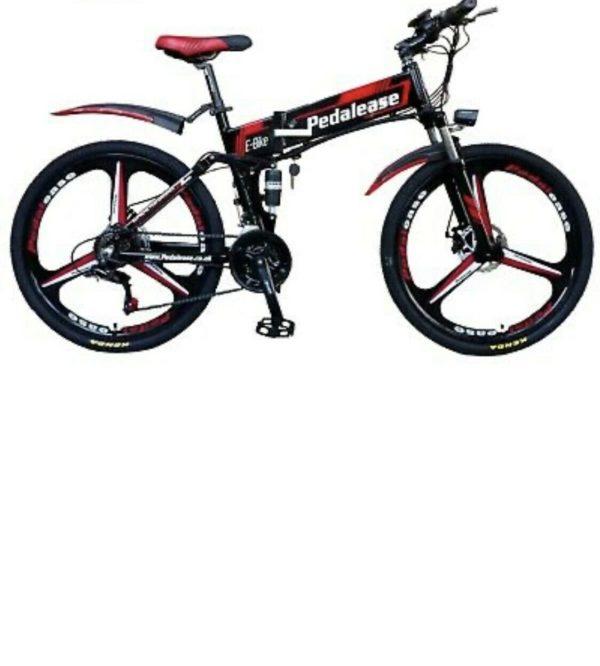 500w 48v Folding Bike hidden battery - Black colour