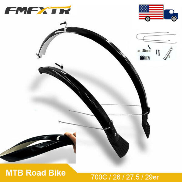 "700C/20/26/27.5/29"" Front&Rear Mud Flaps Bracket MTB/Road/Folding Bike Mudguards"