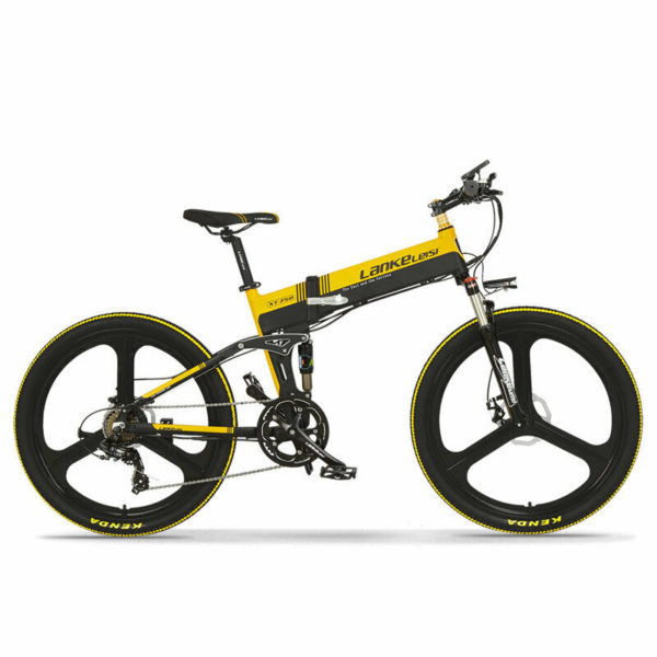 Electric Bike XT750 500W 48V Mountain Bike Folding Bike 27 Speeds Electric Bike
