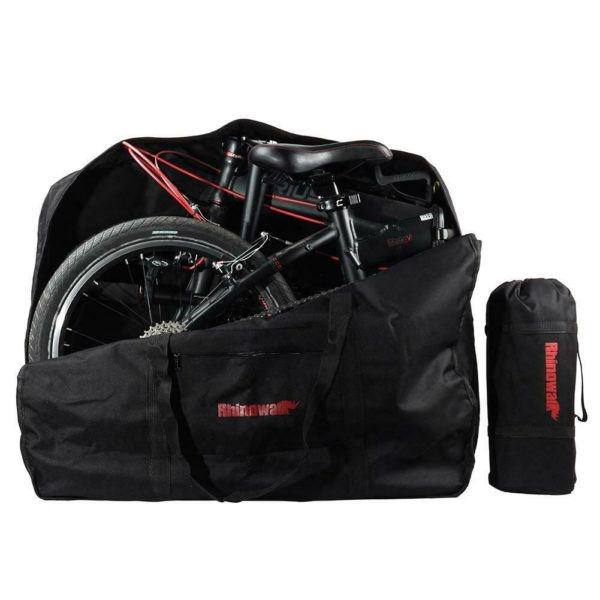 RHINOWALK Folding Bike Bicycle Carrier Bag Loading Package Carrying Bag