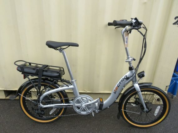 LECTRO EASY STEP ELECTRIC FOLDING BIKE 20 INCH WHEELS NEW EX DISPLAY ref 12586