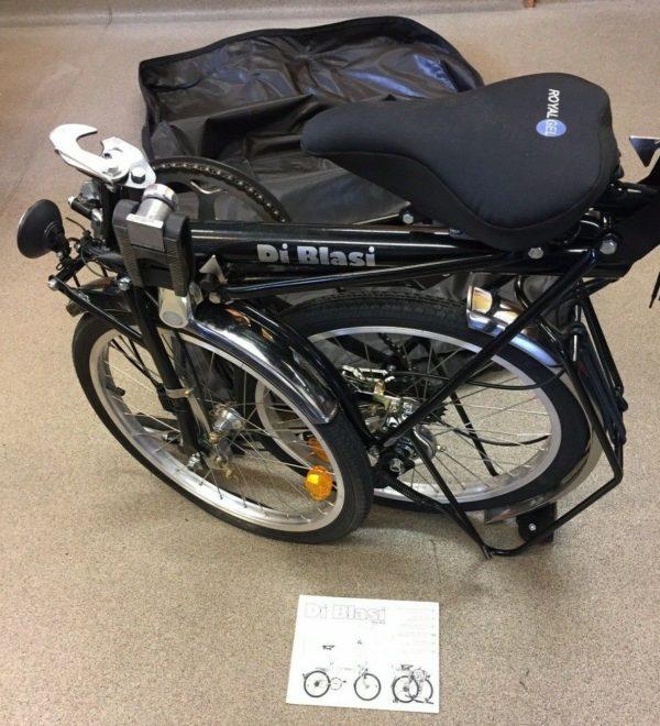 Di Blasi Mod R21 Folding Bicycle with Carry Bag (D1)