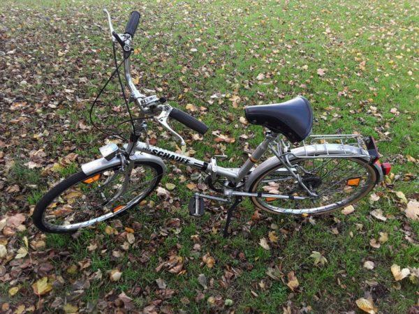 Schauff Velo Folding Bike 5 speed shimano derailleurs
