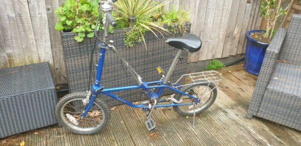 Dahon 3 Vintage Folding Bike retro vintage collectable fair condition
