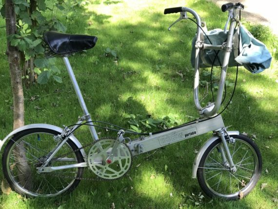 Classic Bickerton Portable Folding Bicycle