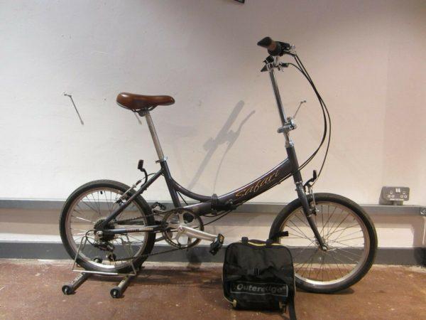 Viking Safari Folding Bike with Storage bag